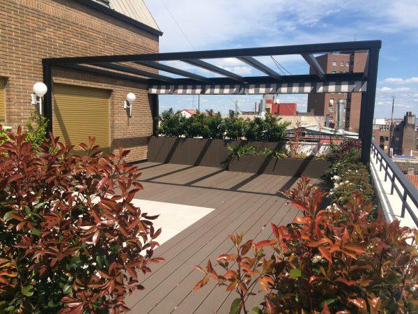 Tarima de exterior sintética para terrazas guadalajara