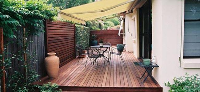 Tarima de exterior sintetica ipe terraza jardin piscina for Decoracion de exteriores